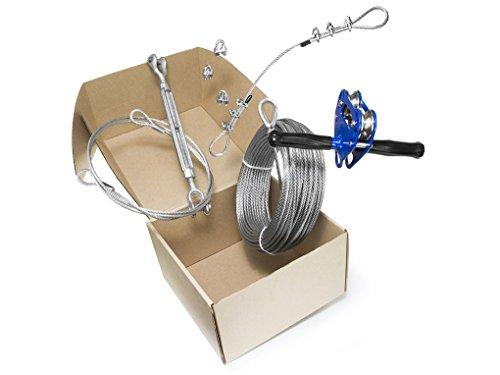 100 Foot Zip Line Kit (Chetco)  WowCoolStuffcom