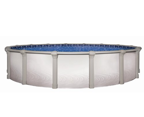 24 Round Pool Package 24 X54 High Above Ground Morada Rtl Swimming Pool With Mystri Gold