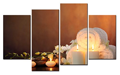 Spa Wall Art smartwallart@ -4 piece wall art painting spa— picture on canvas